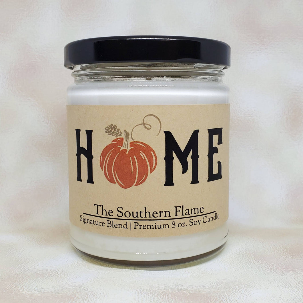 Fall Home Candle | Personalized Candles | Home Pumpkin Decor