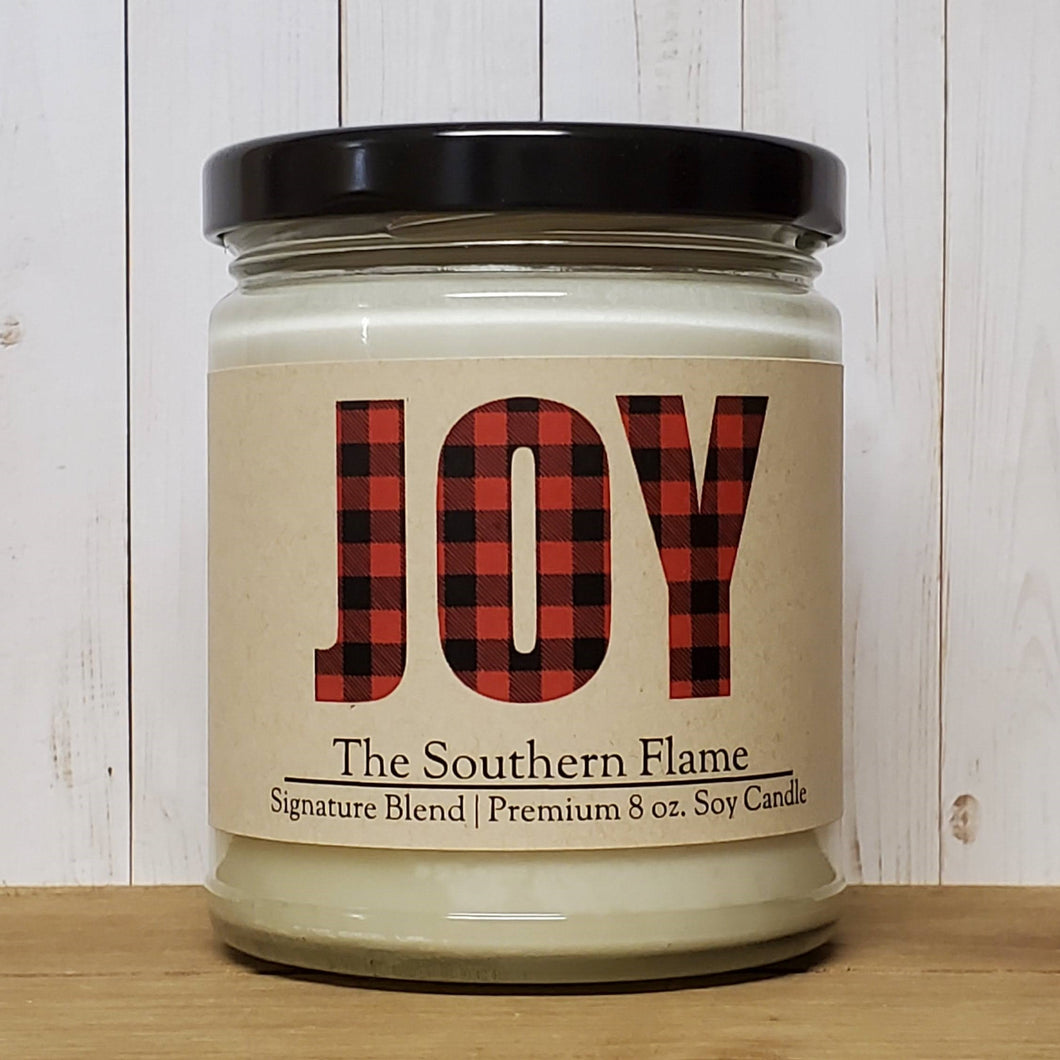JOY Christmas Candle | 2020 Christmas Gifts | Personalized Candles