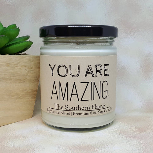 You Are AMAZING Candle | Valentine's Day Gift