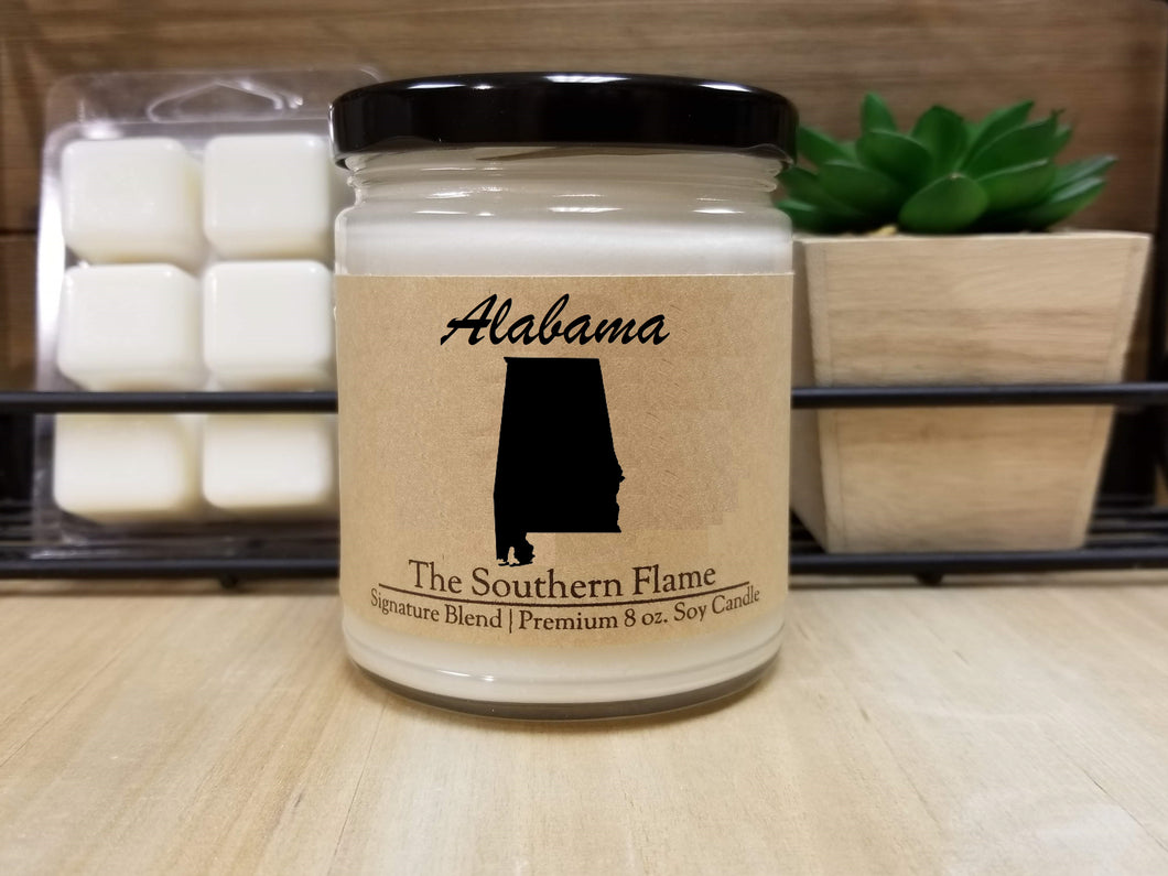 Alabama Homesick State Candle