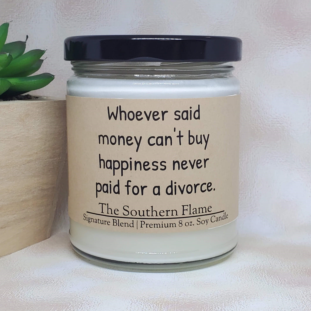 Divorce Candle | Divorce Gift | Personalized Candles
