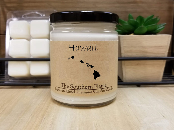 Hawaii Homesick State Candle