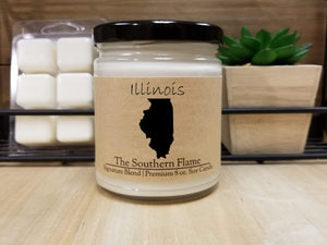 Illinois Homesick State Candle