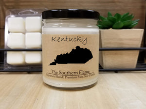 Kentucky Homesick State Candle