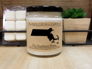 Massachusetts Homesick State Candle