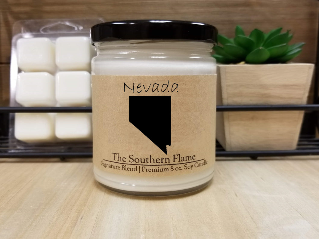 Nevada State Candle | Homesick Candle | Long Distance Gift