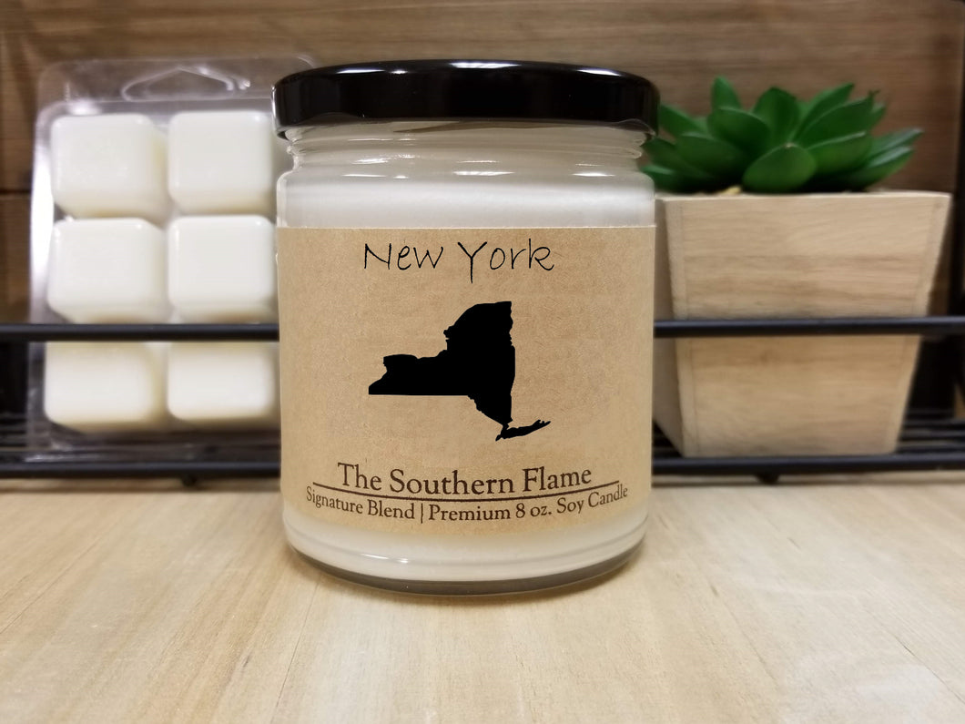 New York Homesick State Candle