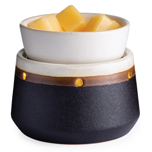 2 in 1 Wax Warmer Ironstone (Shut off timer)
