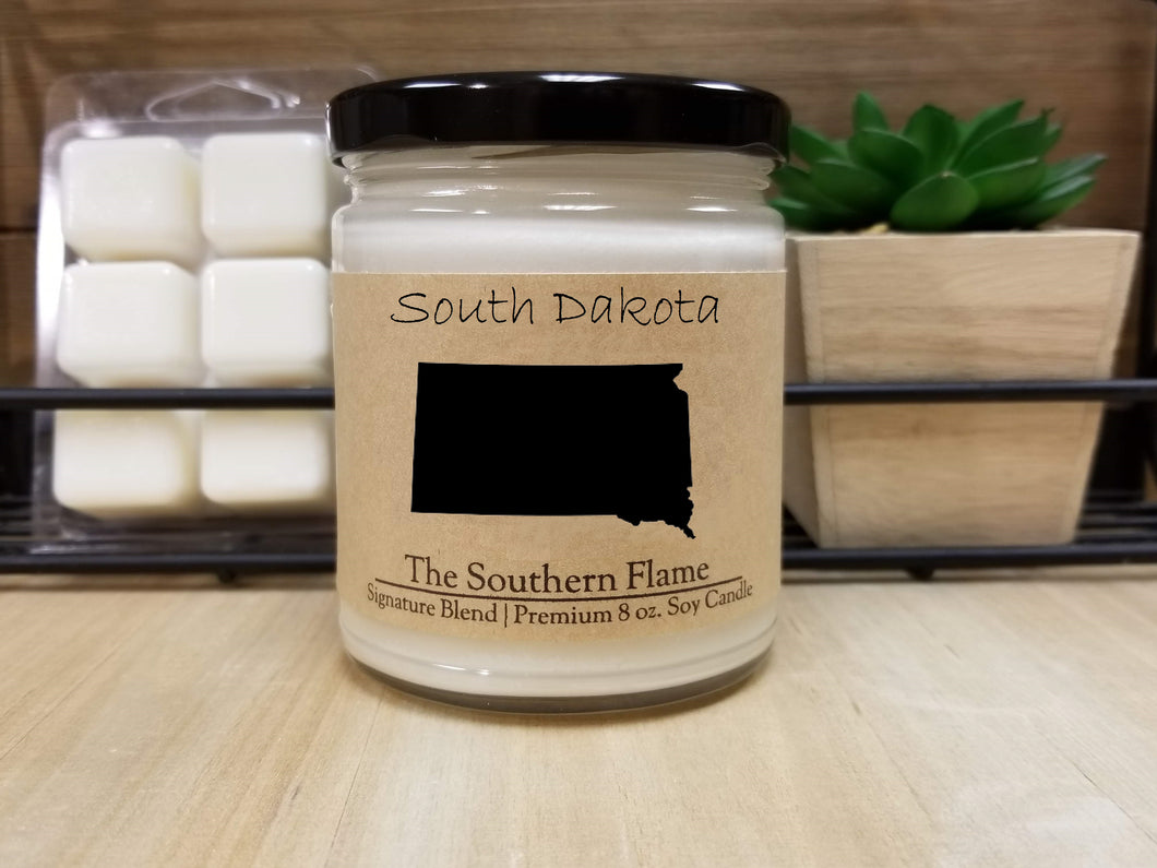 South Dakota State Candle | Homesick Candle | Long Distance Gift