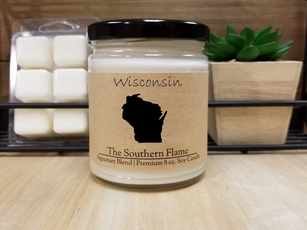 Wisconsin Homesick State Candle