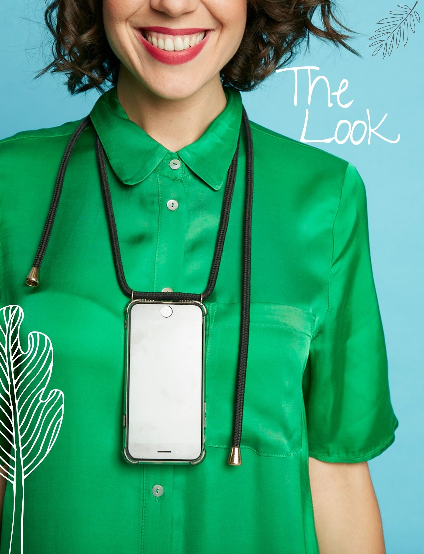 Phone Case Necklace | N°31 SEA GREEN | Cicerly