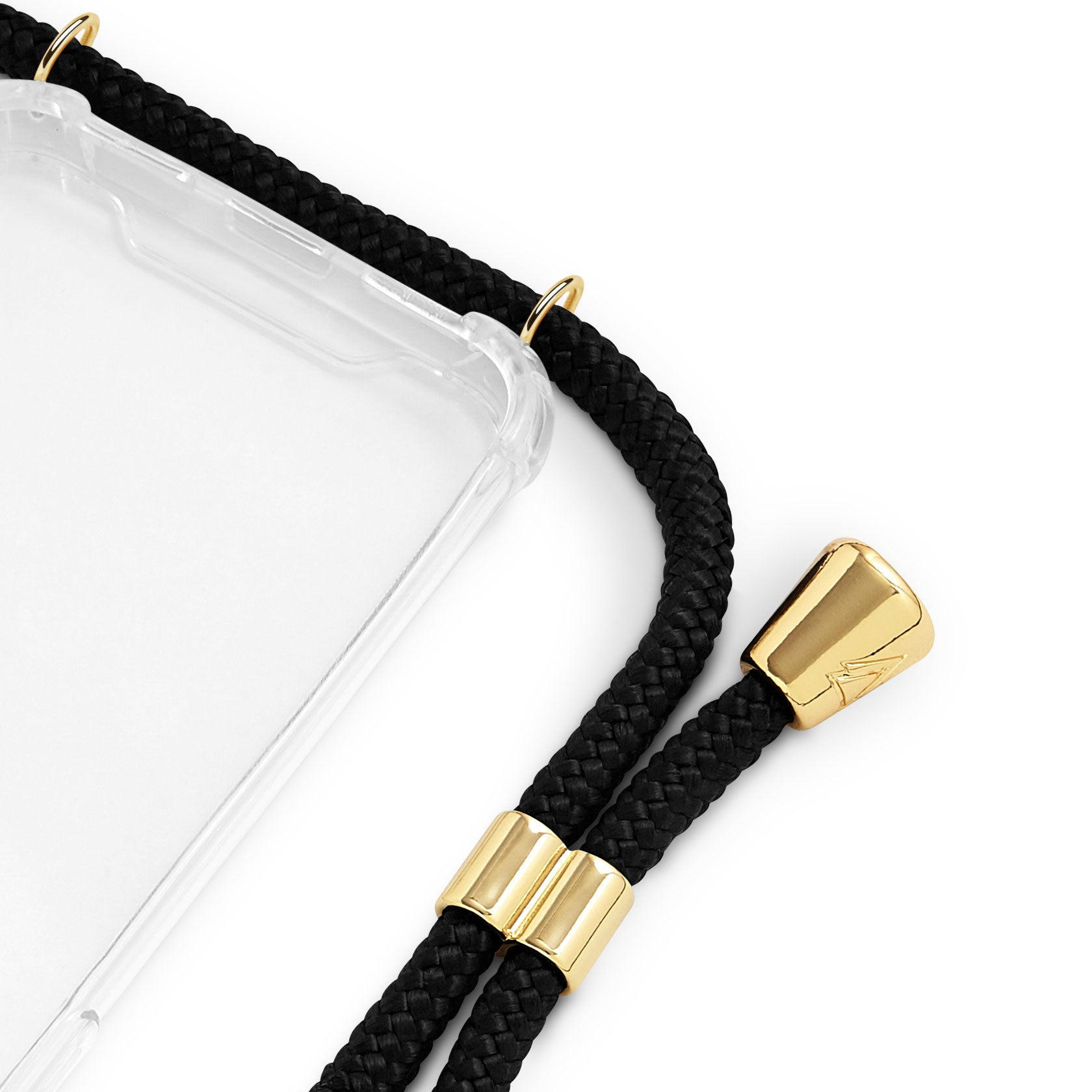 Phone Case Necklace | N°01 BLACK | Cicerly