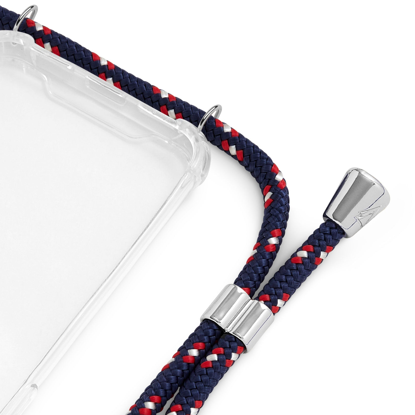 Phone Case Necklace | N°29 BLUE WHITE RED | Cicerly