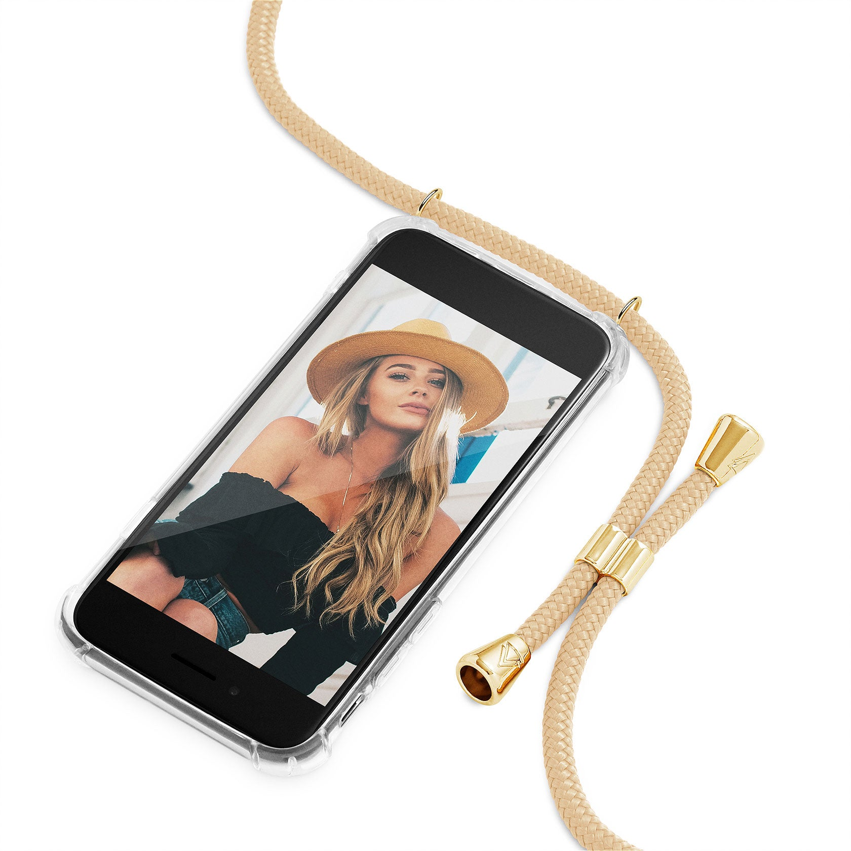 Phone Case Necklace | N°21 GOLD | Cicerly