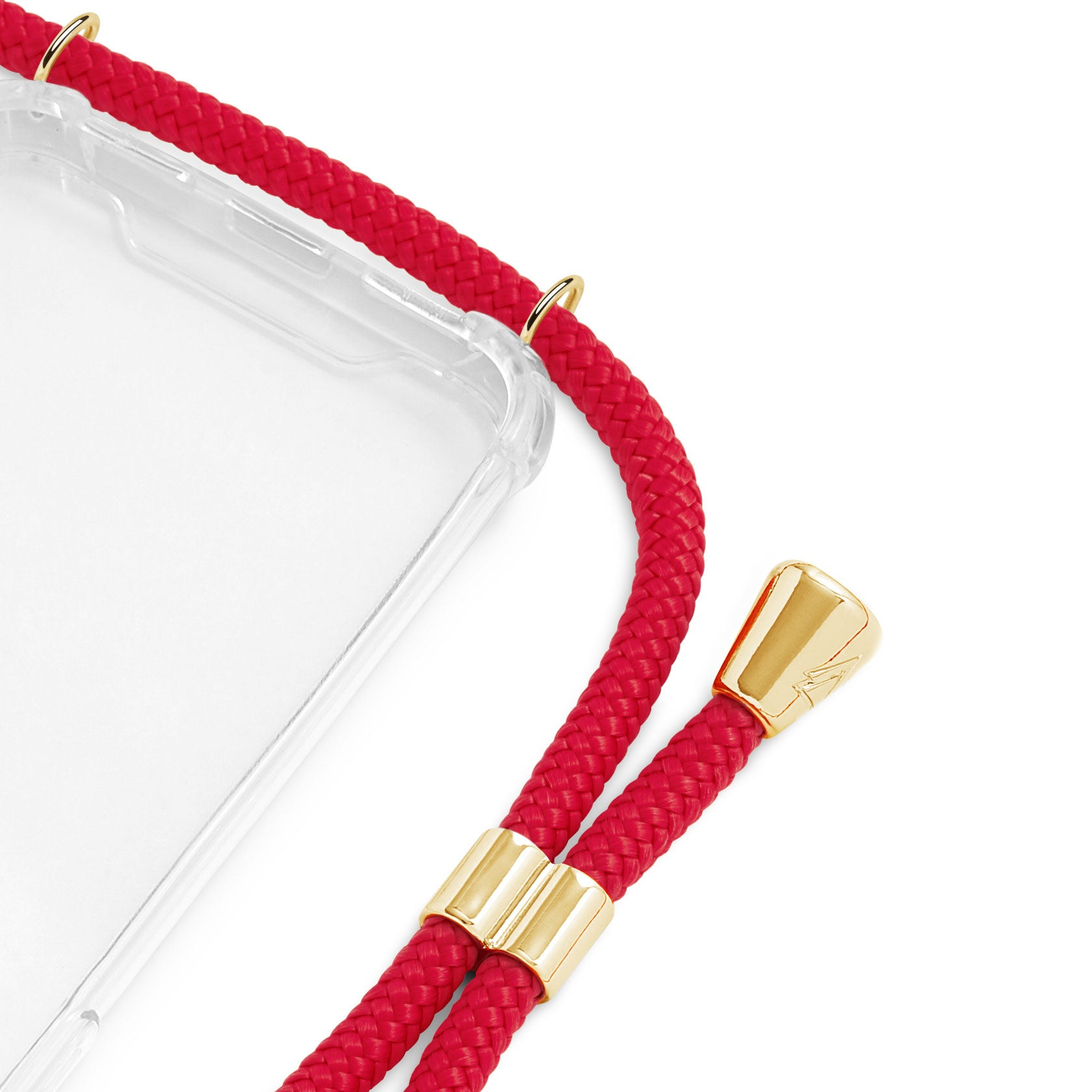 Phone Case Necklace | N°37 RED | Cicerly