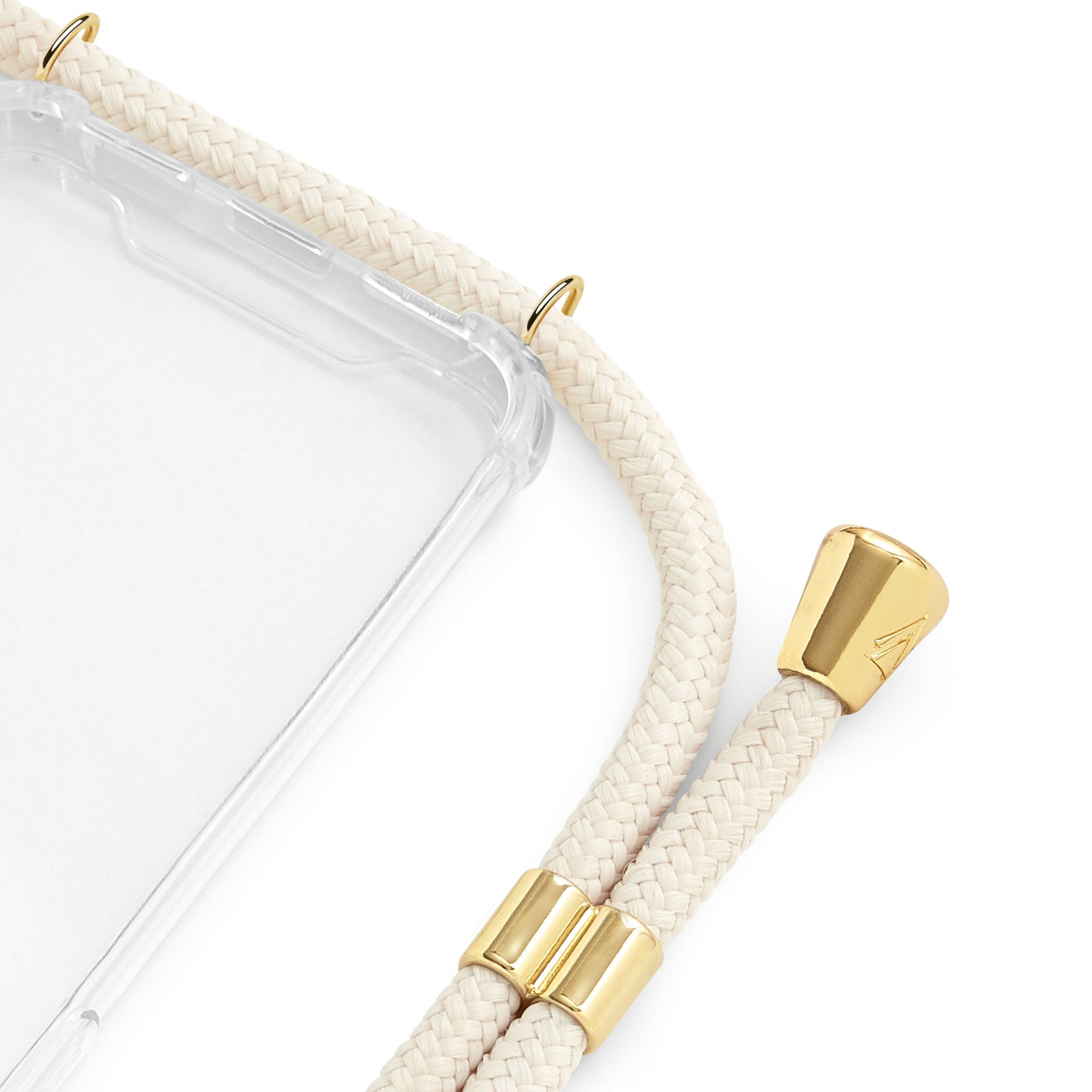 Phone Case Necklace | N°45 CREME WHITE | Cicerly