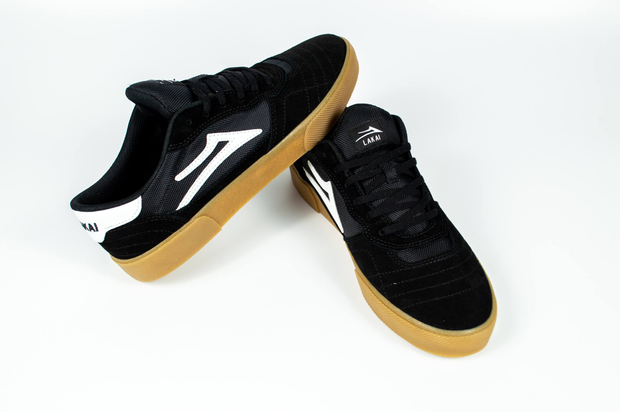 Lakai Cambridge Skate Shoe Black / Gum