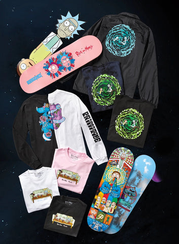 Primitive Skateboarding x Rick and Morty