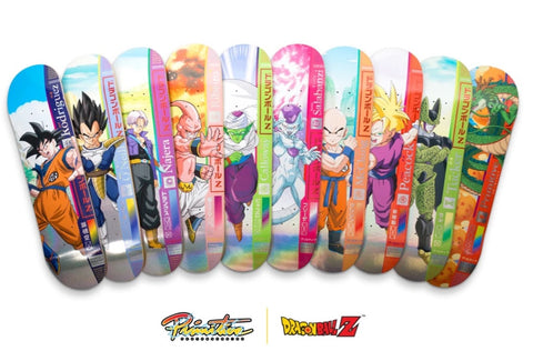 Primitive Skateboards x Dragon Ball Z