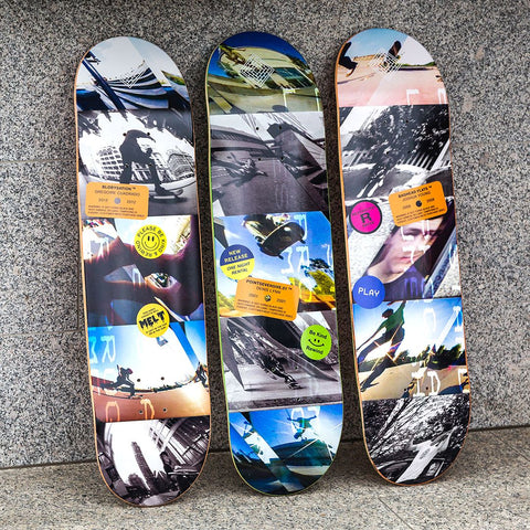 The National Skateboard Co Decks