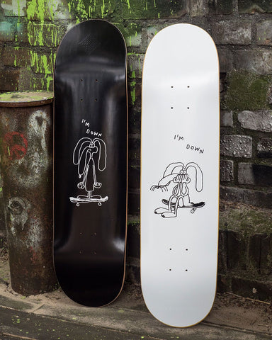 The National Skateboard Co Stefan Marx I'm Down Skateboard Deck