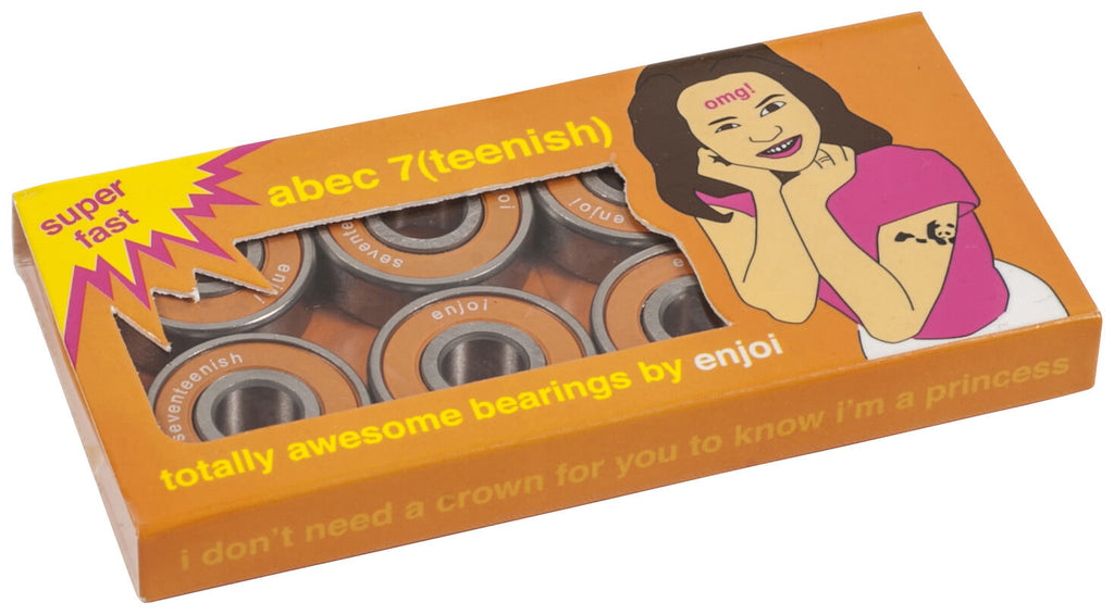 Enjoi Abec 7(teenish) Skateboard Bearings
