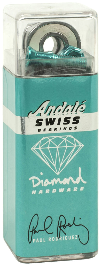Andalé x Diamond Supply Co Paul Rodriguez Swiss Pro Skateboard Bearings