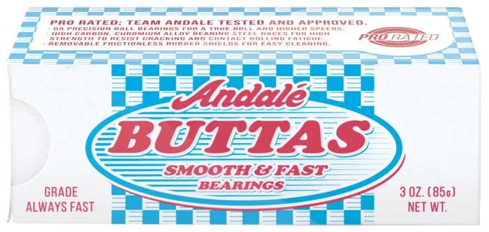 Andalé Buttas Skateboard Bearings