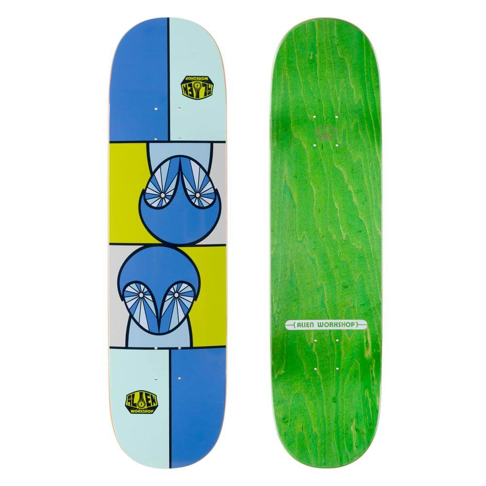 "Alien Workshop Owlien Twin 8.375"" Skateboard Deck"