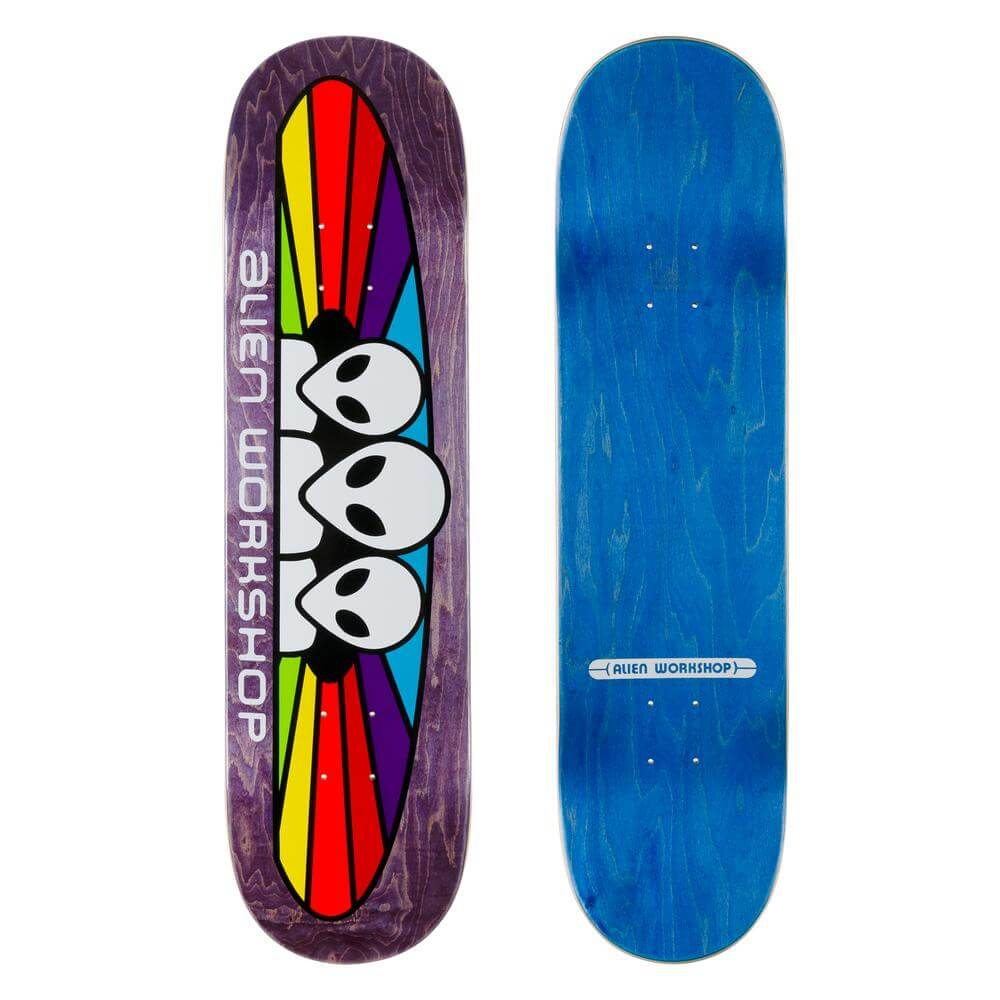 "Alien Workshop 8.25"" Spectrum Skateboard Deck"