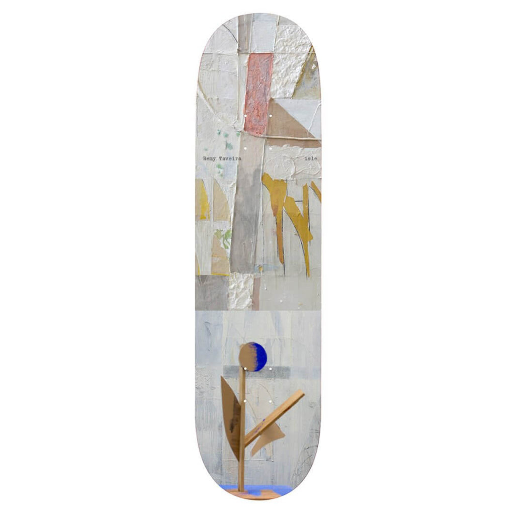 "Isle Skateboards Sculpture Series Remy Taveria 8.25"" Skateboard Deck"