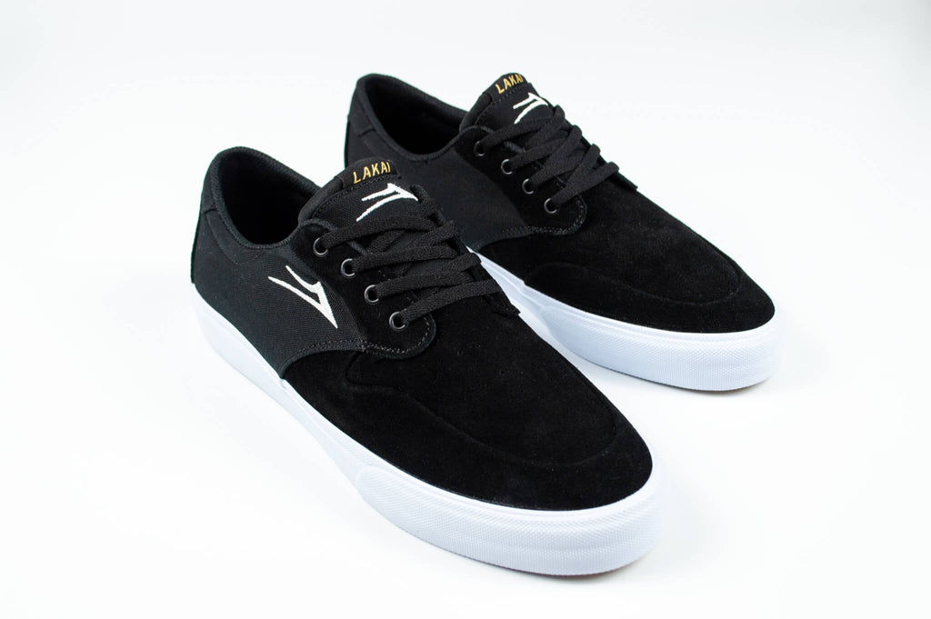 Lakai Riley 3 Black Suede Skate Shoe