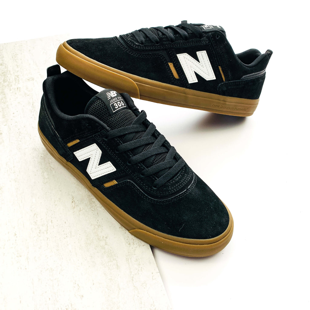 New Balance Numeric 306 Jamie Foy Skate Shoes- Black / Gum
