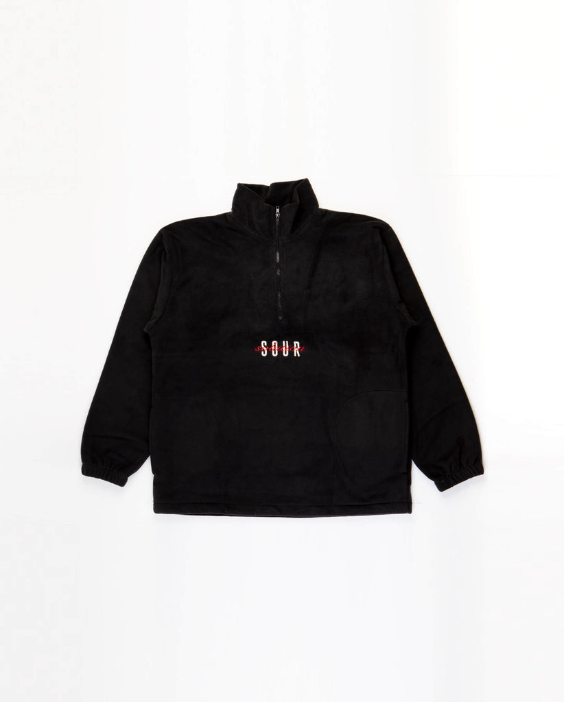 Sour Solution Spot Hunter Fleece - Black
