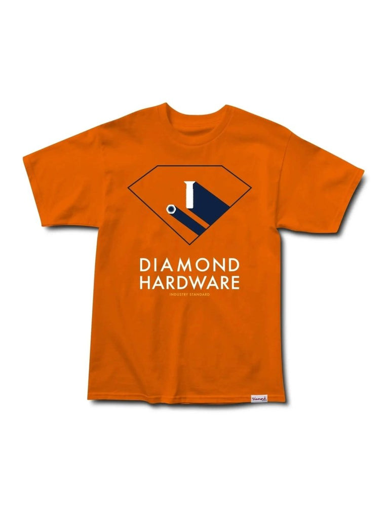 Diamond Supply Co. Industry Standard T-Shirt - Orange