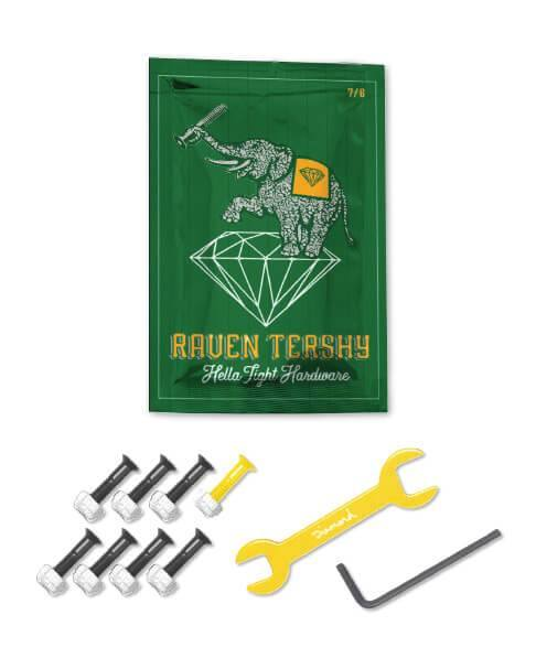 "Diamond Supply Co. Raven Tershy Pro Allen 7/8"" Bolts"