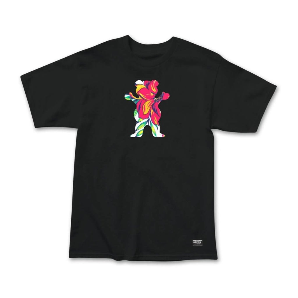 Grizzly Griptape Black Maui OG Bear T-Shirt