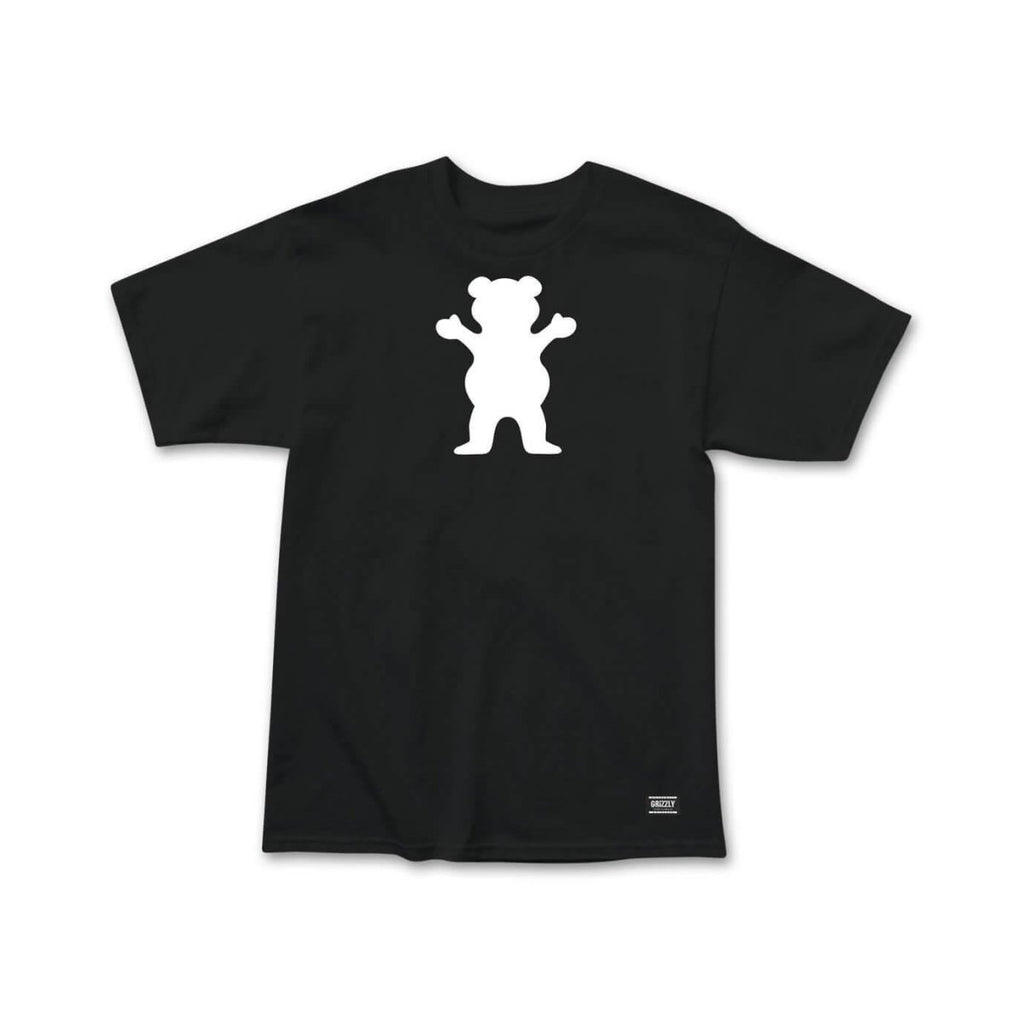 Grizzly Griptape Black OG Bear T-Shirt