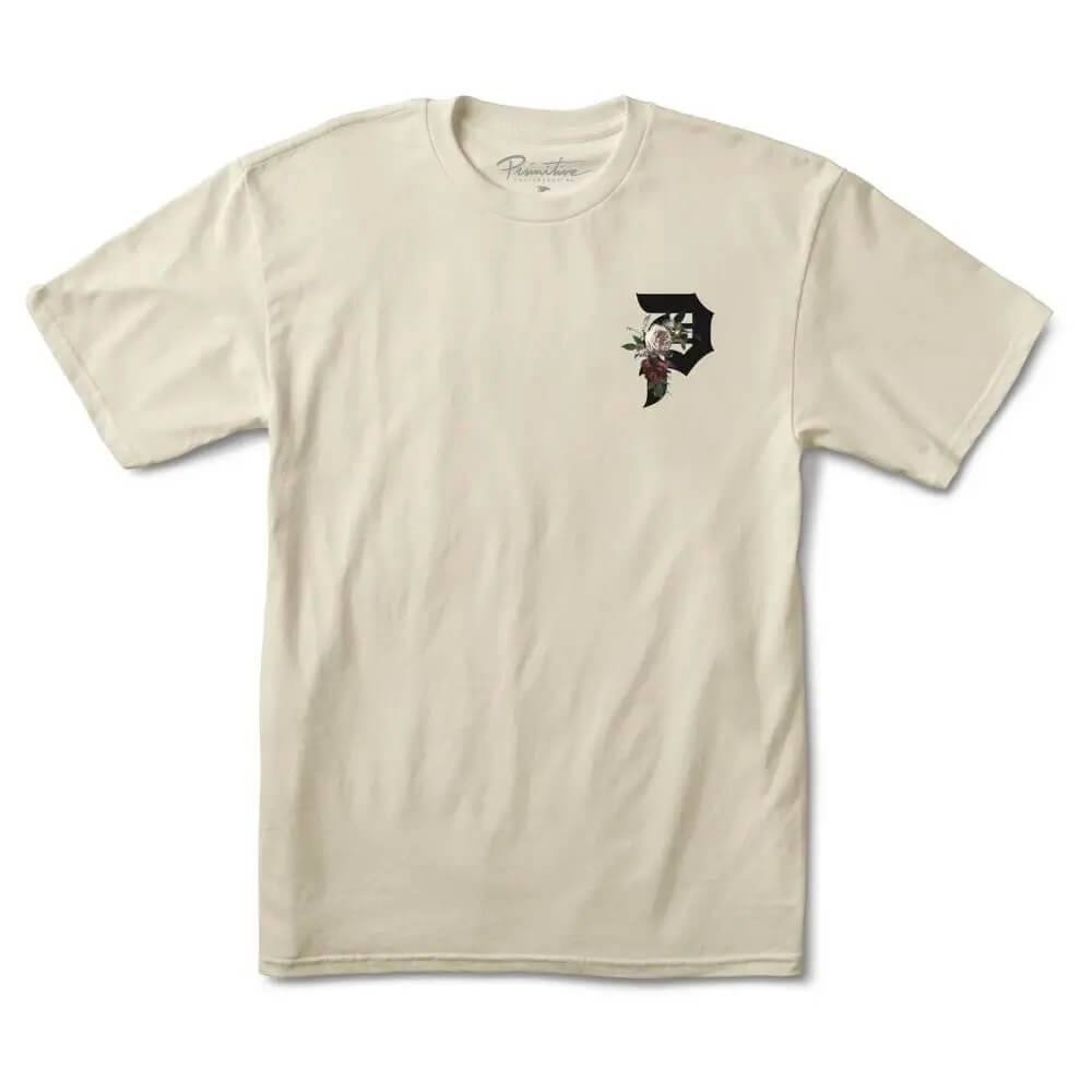 Primitive Skateboarding Dirty P Tribute T-Shirt Cream