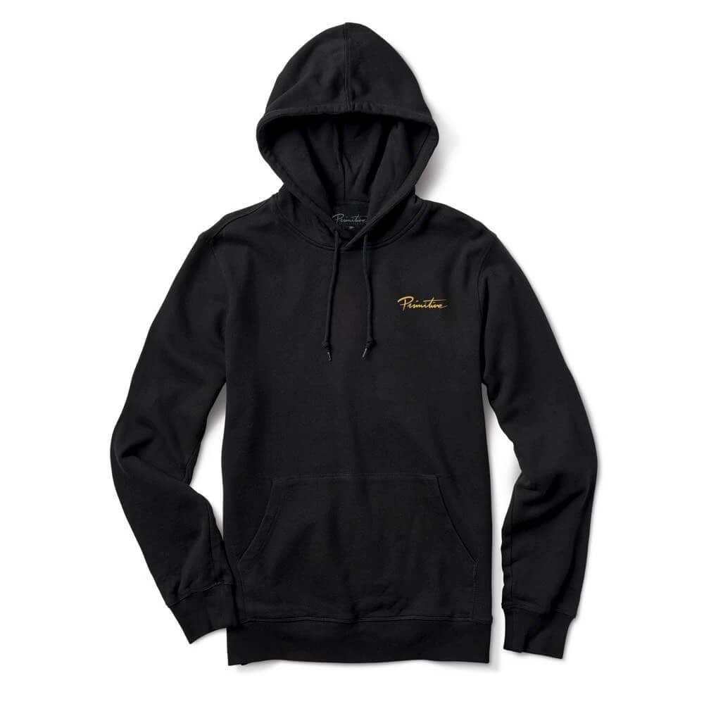 Primitive Skateboarding Revival Hoodie Black