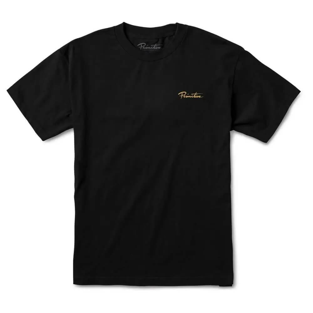 Primitive Skateboarding Revival T-Shirt Black