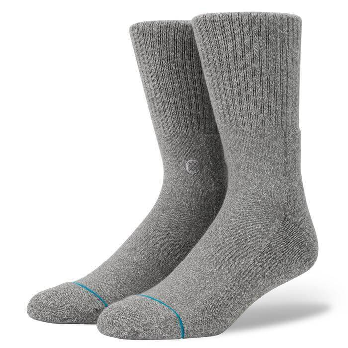 Stance Icon Heather Socks - North Street Skate