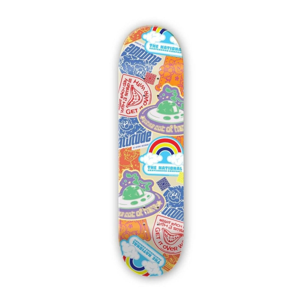 "The National Skateboard Co. Slap It 8.25"" High Concave Deck - North Street Skate"