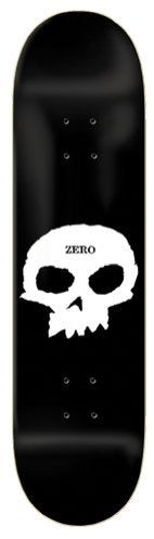 "Zero Skateboards Single Skull 7.75"" Skateboard Deck - North Street Skate"