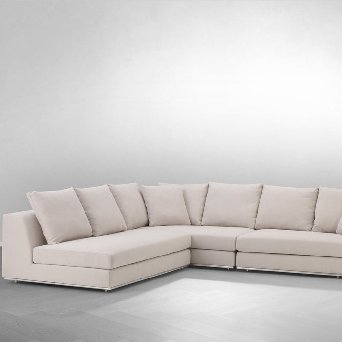 Sofa Richard Gere, w kolorze panama natural