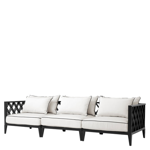 Sofa Ocean Club, w kolorze outdoor matte black