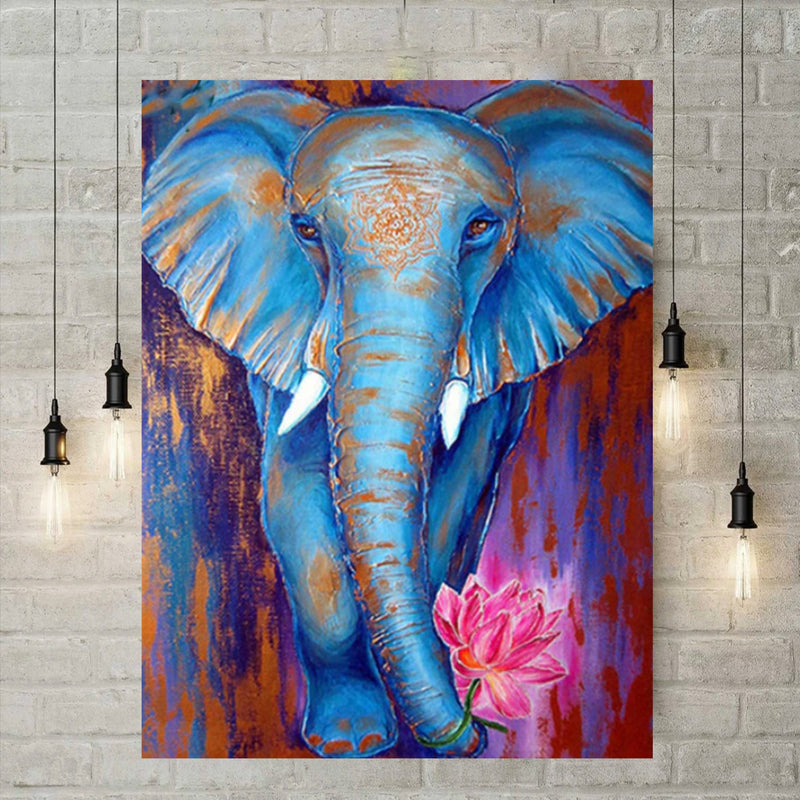 5D Diamond Painting -  Afrikaans wonder