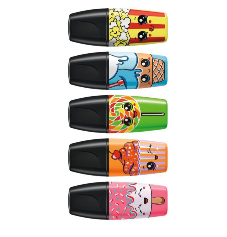 STABILO BOSS MINI Sweet Friends Highlighters - Set of 5