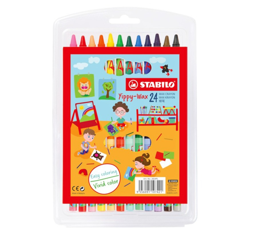 Stabilo Swans Pastel Colored Pencil - Set of 12(Multicolor)