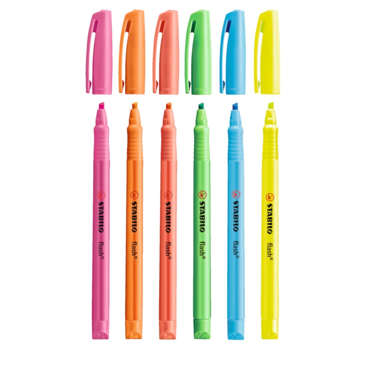 STABILO Flash Pen-style Highlighter with Musical Notes Design - Schwan-STABILO -Most colourful Stationery Shop